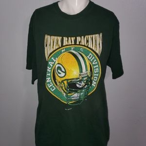 Vintage Pro PlayerGreen Bay Packers Shirt Size XL
